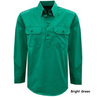 Thomas Cook Light Drill Half Placket Shirt