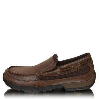 Twisted X Mens Casual Driving Mocs Boat Slip On