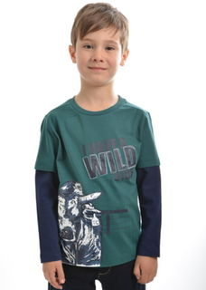 TC Boy's Wild Bull Long Sleeve Top