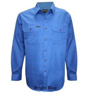 Hard Slog Men's Half Placket Shirt