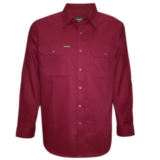 Hard Slog Full Placket Light Cotton Shirt