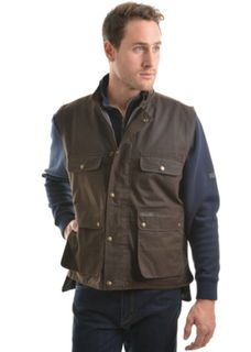 TC High Country Oilskin Vest