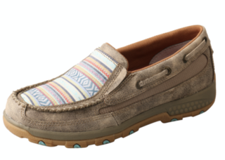Twisted X Woman's Aztec CellStretch Slip On