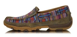Twisted X Women's Casual Driving Mocs Slip On