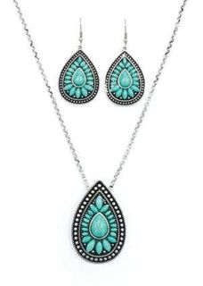 Pure Western Iris Jewellery Set
