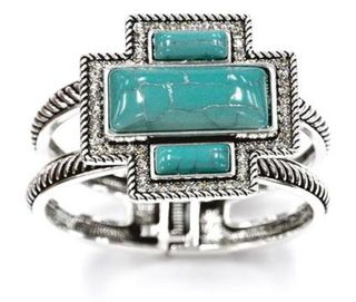 Pure Western Hinged Cuff Bracelet