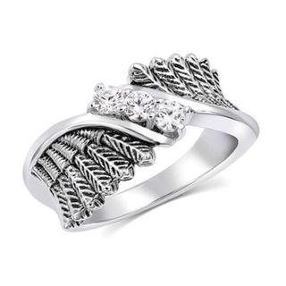 Montana Starlight Feather Glory Ring