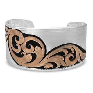 Montana Over the Horizon Rose Gold Cuff Bracelet