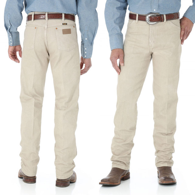 Wrangler Cowboy Cut Original Fit Jean - Prewashed Tan