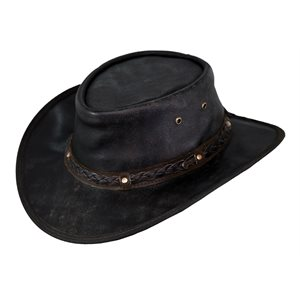 Ironbark Leather Hat