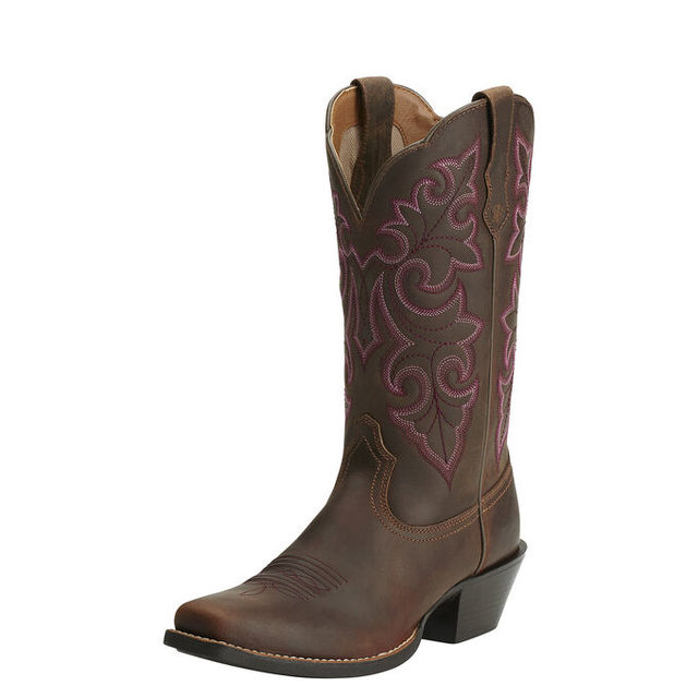 Womens Round Up Square Toe
