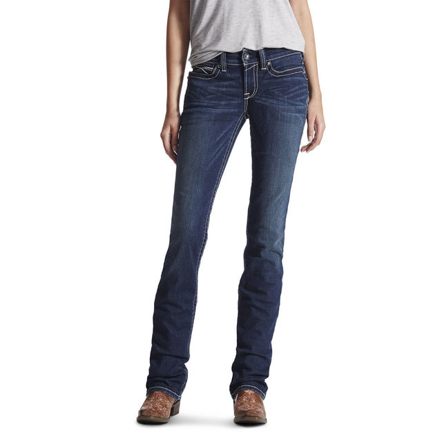 Ariat R.E.A.L. Stackable Straight - Ocean