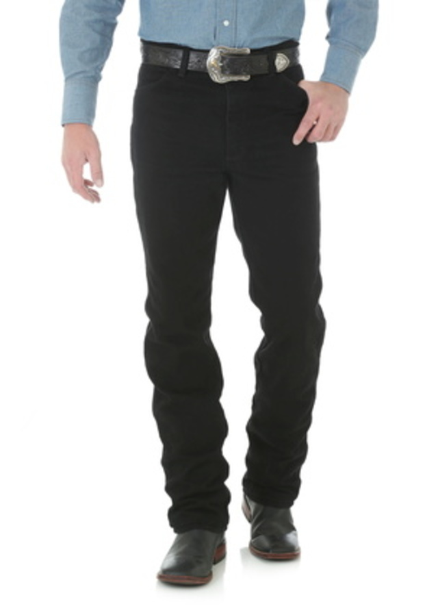 Wrangler Cowboy Cut Slim Fit Jean - Shadow Black