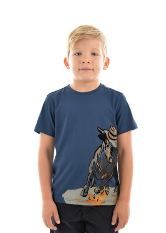 TC Boy's Flock Bull Tee