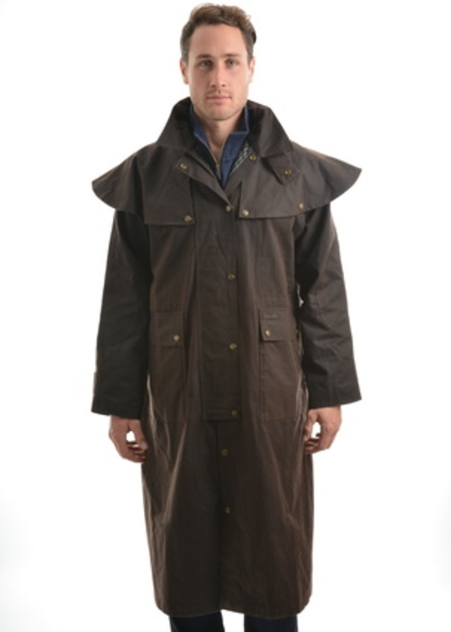 TC High Country Oilskin Long Coat