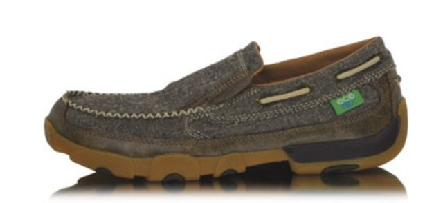 Twisted X Woman's Casual Driving Moc Boat Slip On