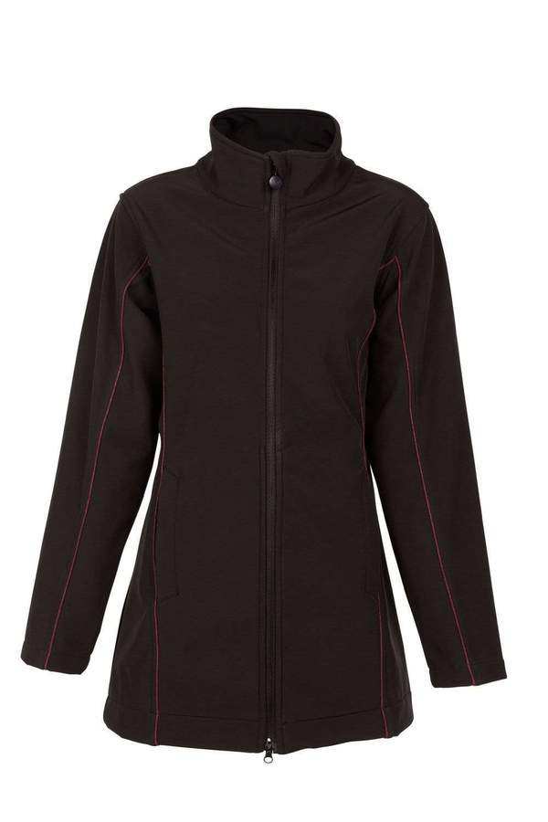 Violet Softshell Coat