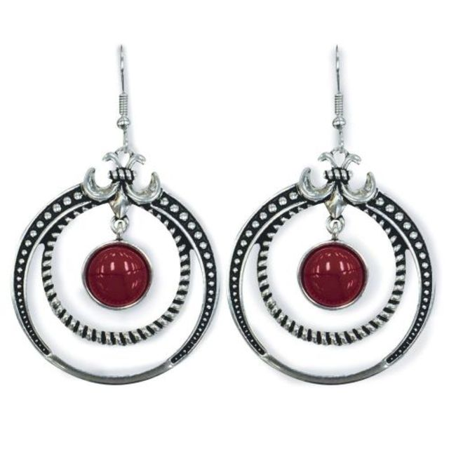 Pure Western Ruby Earrings